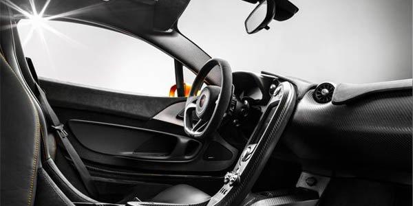 L'intérieur de la McLaren P1 dévoilé