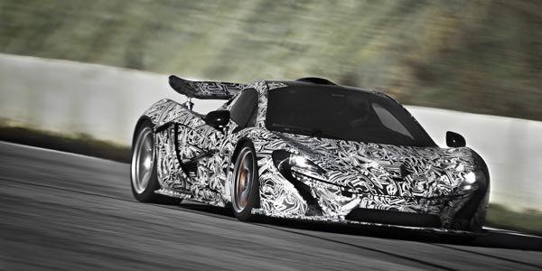 903 ch pour la McLaren P1 hybride !