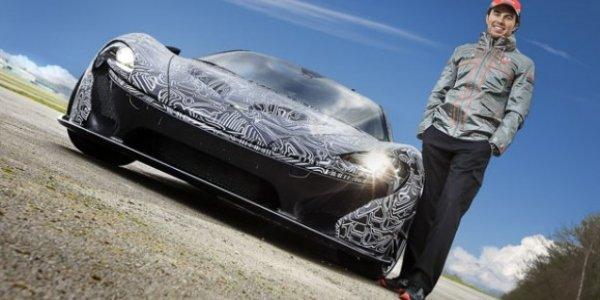 McLaren P1 : présentation digne d'une F1