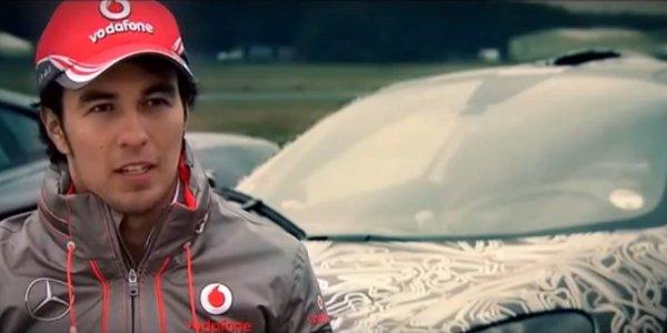 Vidéo : Perez essaie la McLaren P1