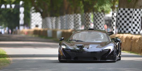 Premier roulage public pour la McLaren P1