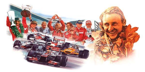 McLaren fête ses 50 ans à Woking