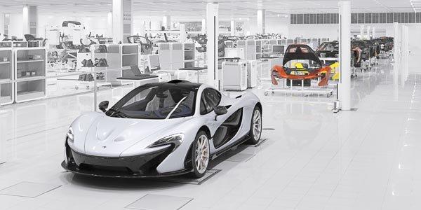 Les chiffres définitifs de la McLaren P1