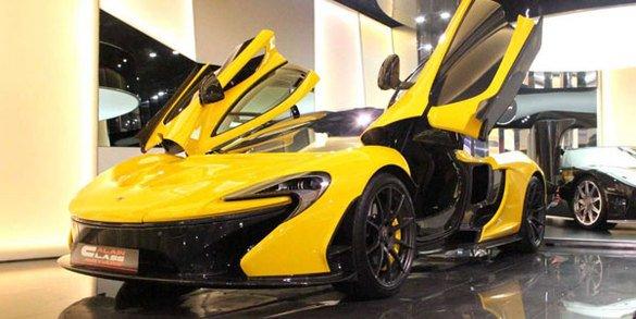Une première McLaren P1 d'occasion ?