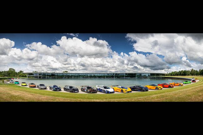 McLaren : rassemblement spécial à Woking