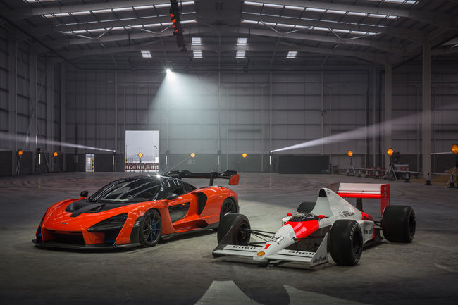 McLaren reçoit les clés de son nouveau site