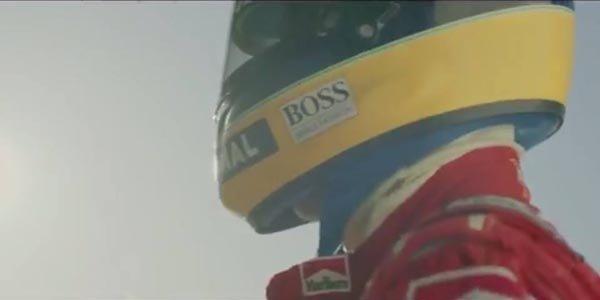McLaren rend hommage à Senna