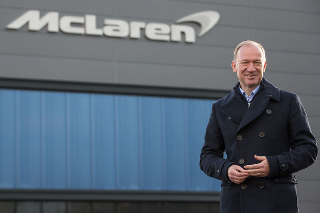 McLaren inaugure son Composites Technology Centre à Sheffield