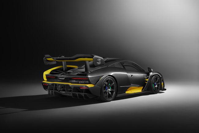 Genève : McLaren Senna Carbon Theme by MSO