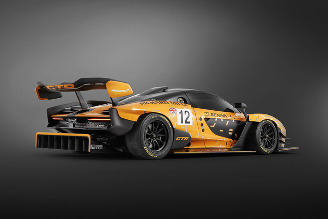 Genève : McLaren Senna GTR concept