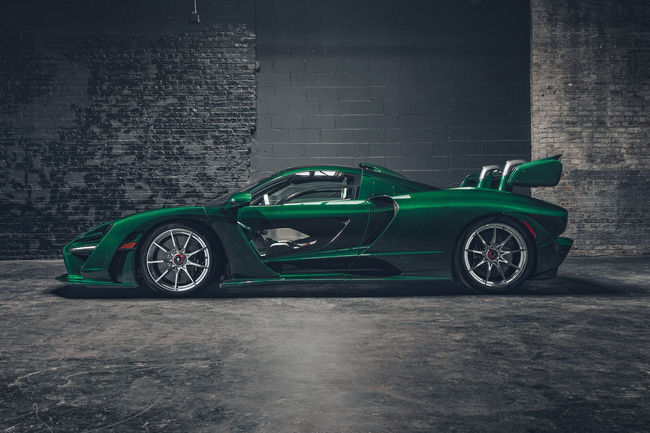 McLaren Senna Fux Green par MSO