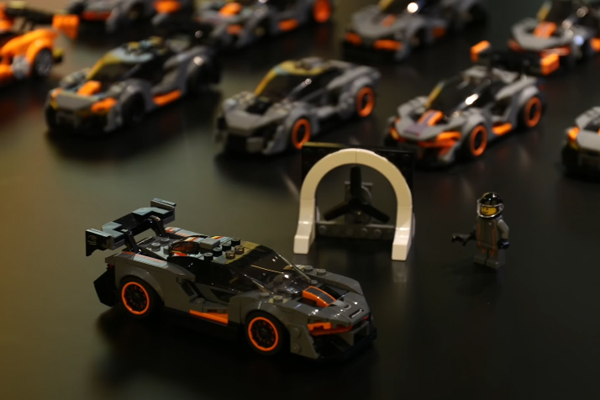 La McLaren Senna intègre le catalogue LEGO