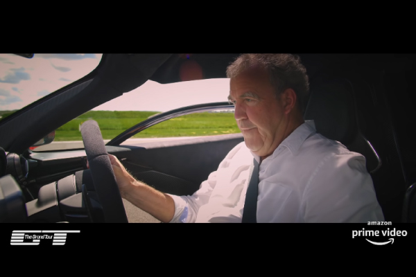 Jeremy Clarkson teste la McLaren Senna dans The Grand Tour