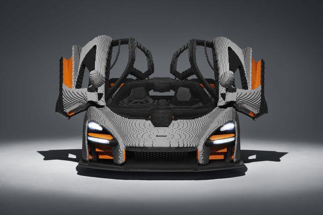 La McLaren Senna à l'échelle 1 en Lego