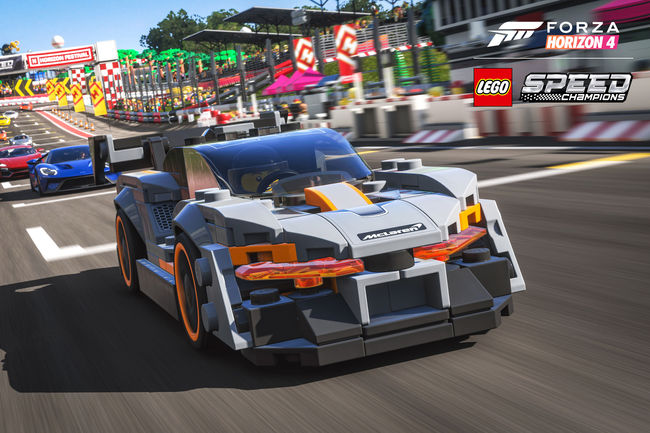 La McLaren Senna LEGO s'expose au salon E3