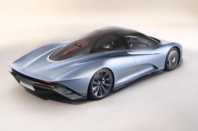 McLaren Speedtail : 403 km/h en vitesse de pointe