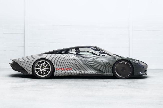 La McLaren Speedtail prend la route