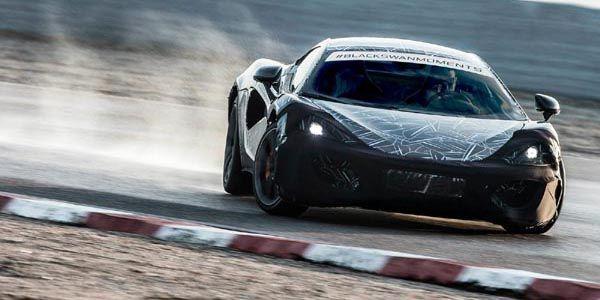 McLaren dévoile la cellule en carbone de sa Sports Series