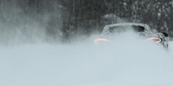 La McLaren Sports Series en action