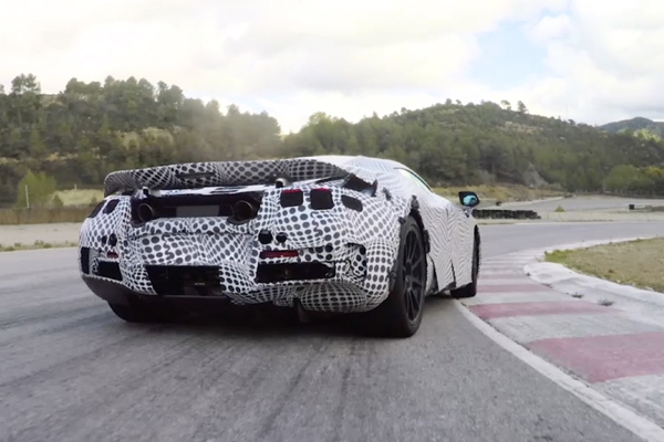 La McLaren Super Series concurrencera la P1 au freinage