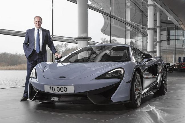 Bientôt des McLaren à quatres roues motrices ?