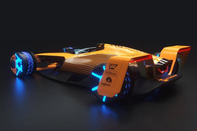 McLaren présente sa vision de la Formule 1 de 2050