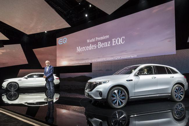 Mercedes-Benz EQC : le SUV 100 % électrique de Mercedes