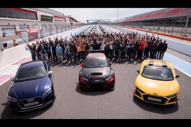 Succès du rassemblement Audi Sport au Castellet