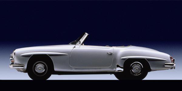 La Mercedes 190 SL fête ses 60 ans