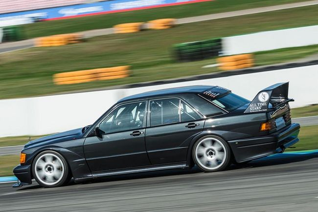 Trackday : une Mercedes 190 E 2.5-16 Evolution II à Zandvoort
