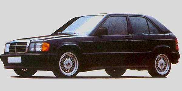 Insolite : la Mercedes 190
