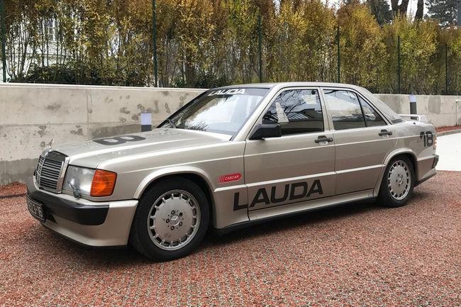 A vendre : Mercedes-Benz 190 2.3 16V ex-Niki Lauda