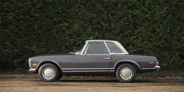 Bonhams : une Mercedes 280 SL cabriolet pour la bonne cause