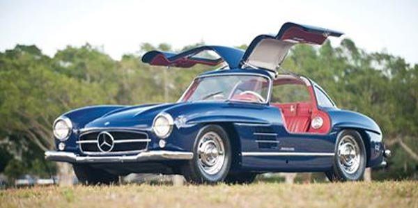 une 300 sl gullwing aux ench res actualit automobile motorlegend. Black Bedroom Furniture Sets. Home Design Ideas