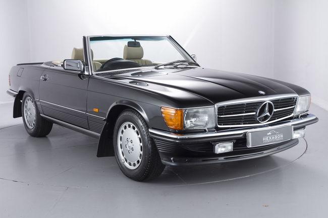 A vendre : Mercedes 500 SL de 1989 presque neuve