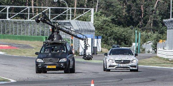 Nouveaux teasers pour la Mercedes-AMG C63 Coupé
