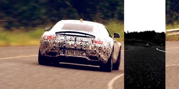 Nouveau teaser pour la Mercedes-AMG GT