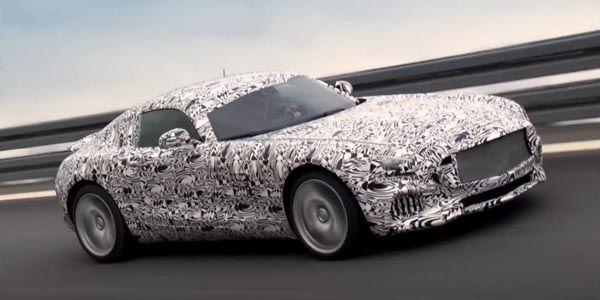 Dernier teaser pour la Mercedes-AMG GT
