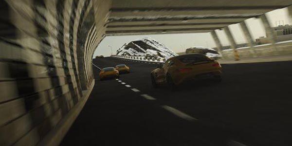 La Mercedes-AMG GT sera dans Driveclub