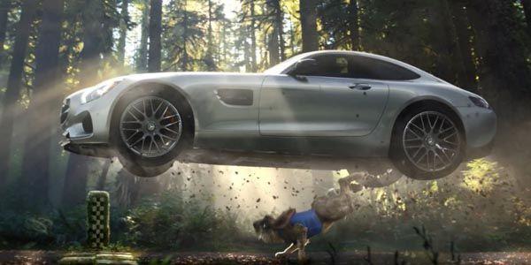 Mercedes revisite les fables de La Fontaine pour le Super Bowl
