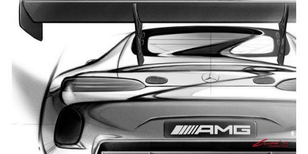 Mercedes-AMG GT3 : premières images