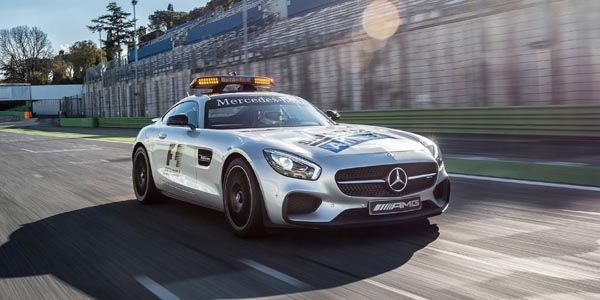 Mercedes-AMG GT S : safety-car officiel de la F1