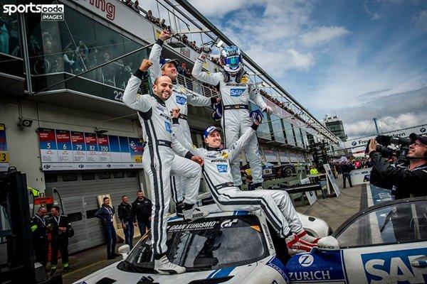Finish haletant aux 24H du Nürburgring