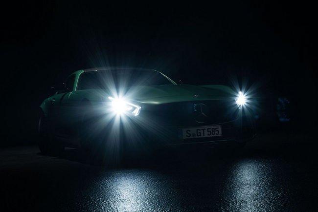 Un teaser pour la nouvelle Mercedes-AMG GT R