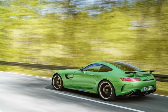 Mercedes-AMG GT R : 2000 exemplaires seulement ?