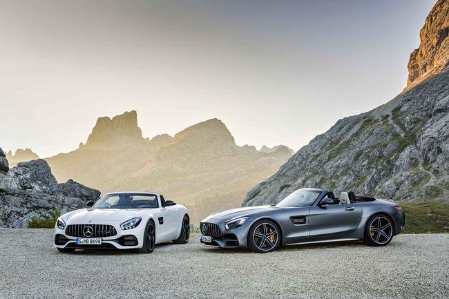 Nouvelles Mercedes-AMG GT et GT C Roadsters