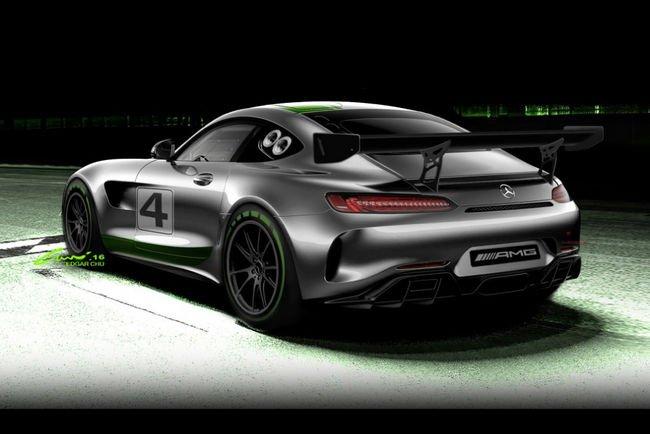 La future Mercedes-AMG GT4 dévoilée