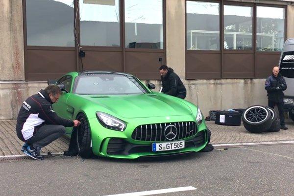 La Mercedes-AMG GT R en 7'10 sur le Ring