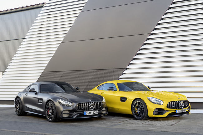 Nouvelle Mercedes-AMG GT C Coupé