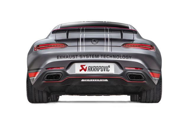 Nouvelle ligne Akrapovic pour les Mercedes-AMG GT et GT S